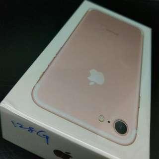 iPhone 7 128g 玫瑰金