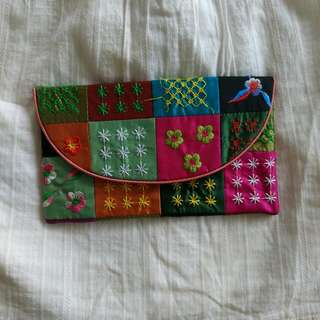 Beautiful Hand Embroidered Clutch
