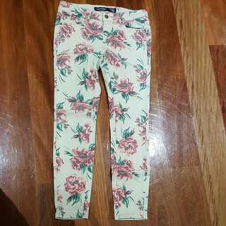 JAYJAYS Floral Denim Jeans