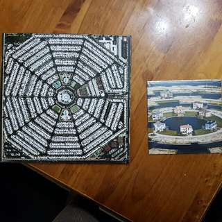 """Modest Mouse - Strangers To Ourselves [Double 12"""" LP] And Lampshades On Fire [7"""" Single]"""