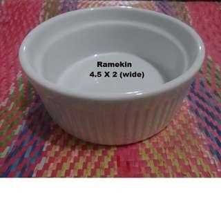Ramekin BIA Cordon Bleu WIDE Ramekin 10 oz  (BOX OF  6 pcs)