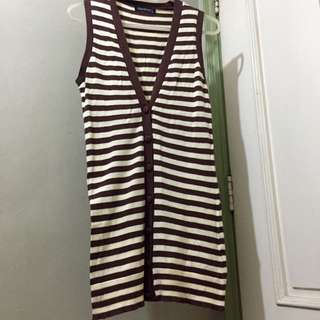 F&H Long Stripe Top
