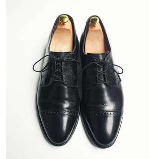 90s 美製橫飾德比皮鞋Allen Edmonds Clifon US 11.5E Eur 4546