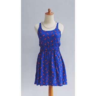 / Colorbox Bird Dress /