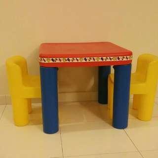 Little Tikes Table & Chair Set