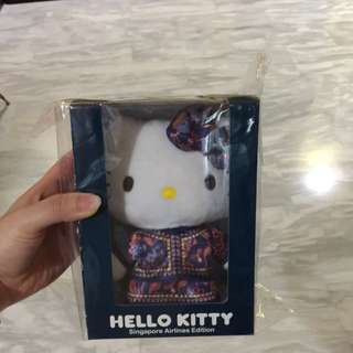 LIMITED EDITION Singapore Airline Hello Kitty 2016