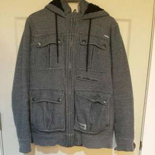 Men's Billabong Hoodie (Lined With 100% POLYESTER)
