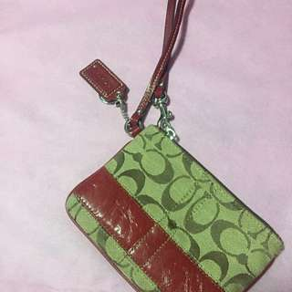 Coach Wristlet- Reserved