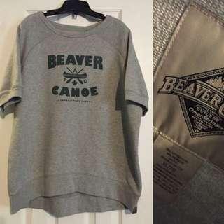***PRICE DROP*** Beaver Canoe Crew Neck Short Sleeve - XL (Women's)