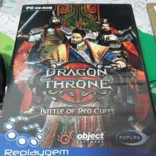 PC Game Dragon Throne Battle Of Red Cliffs