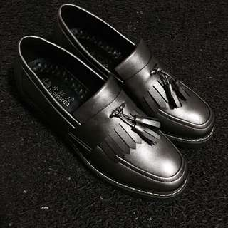 Oxford Tassel Loafers Slip On