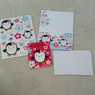 Penguin Letter Set