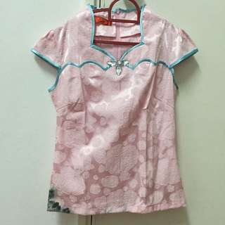 Chinese Inspired Blouse
