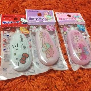 Sanrio Correction Tape