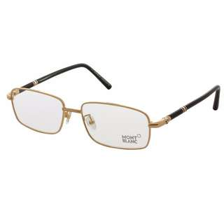 [CLEARANCE] Mont Blanc Glasses (Rose Gold)