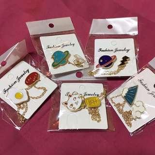 BN Japan Cute Brooch/Collar Pins
