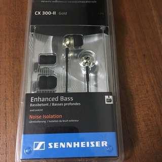 [New] Sennheiser CX 300-II Gold