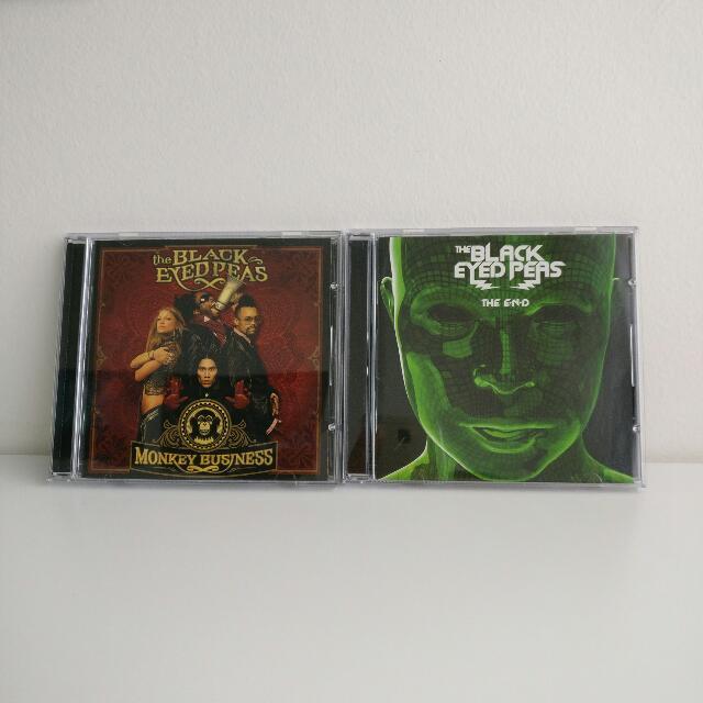 2 Black Eyed Peas CDs