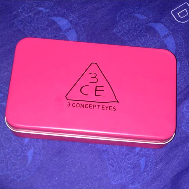 3CE 3 Concept Eyes Brush Set