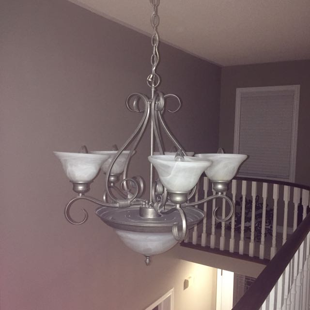 6 Light Large Chandelier