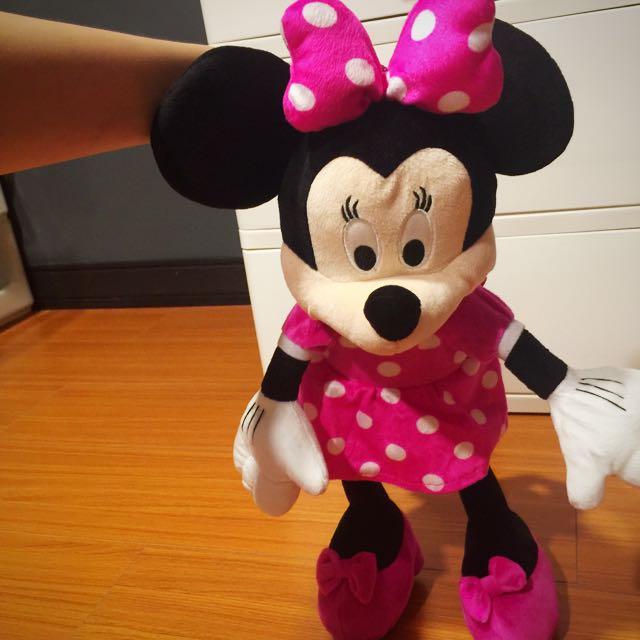 迪士尼購入 米妮背包