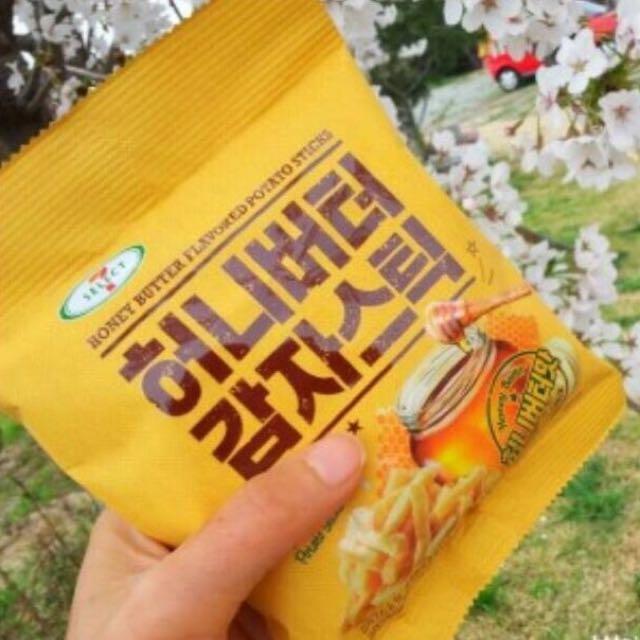 韓國薯條餅乾 蜂蜜奶油