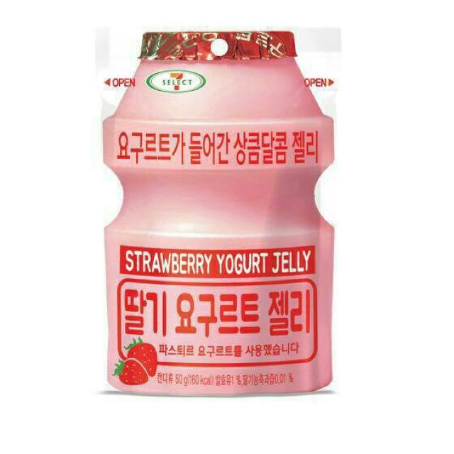 韓國養樂多軟糖 草莓口味