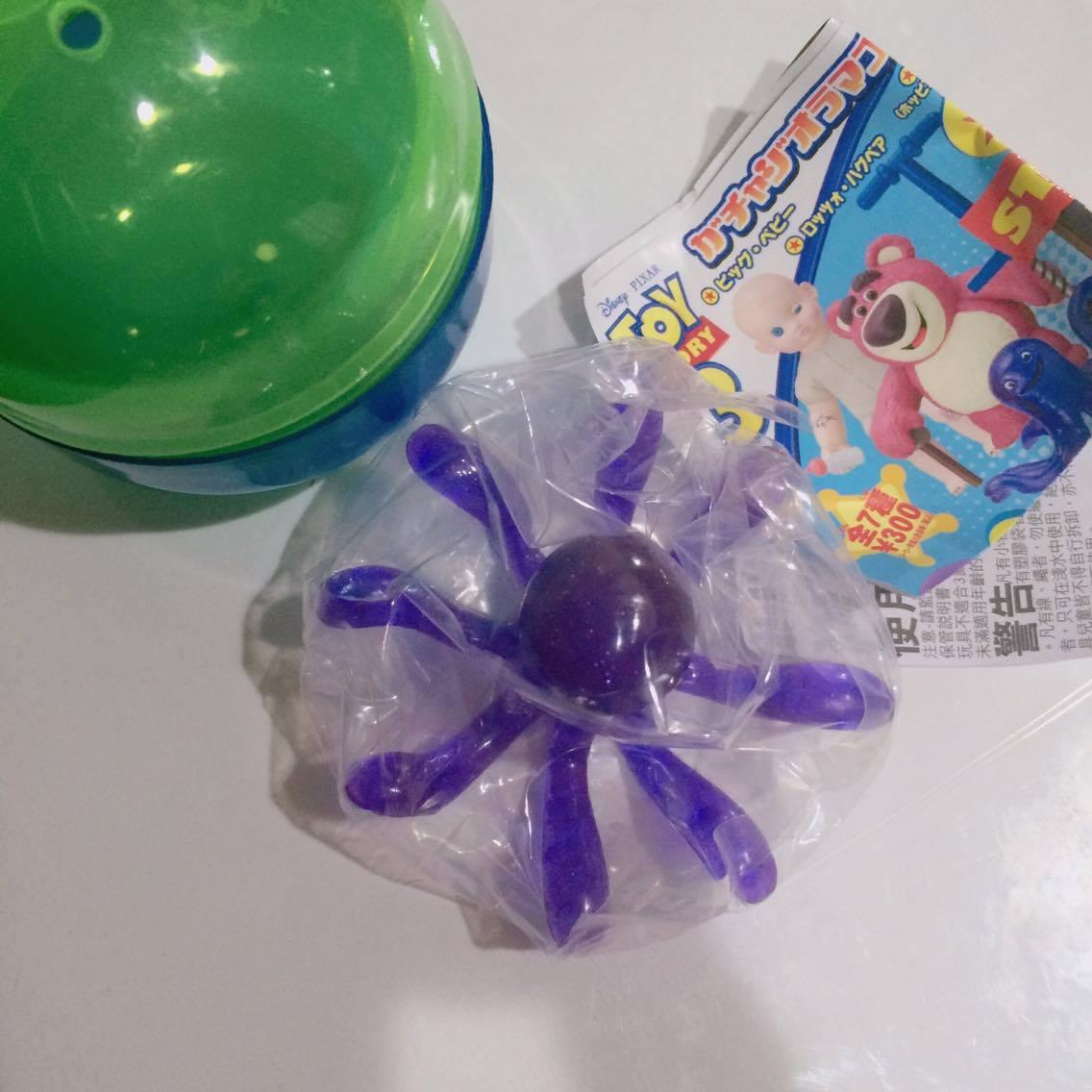扭蛋 章魚