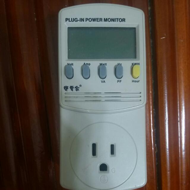 松大 變電家 8合1電源監測器 SPG-26MS Power Monitor