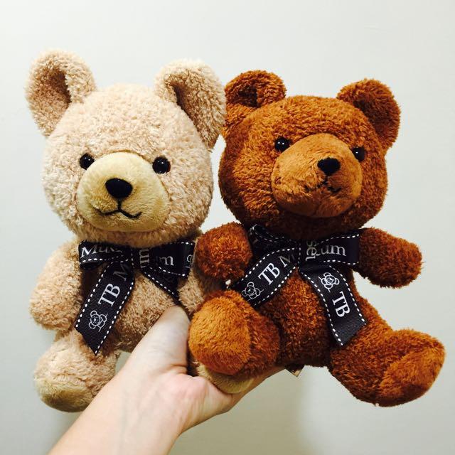 現貨✨ 韓國泰迪熊展 娃娃 一組
