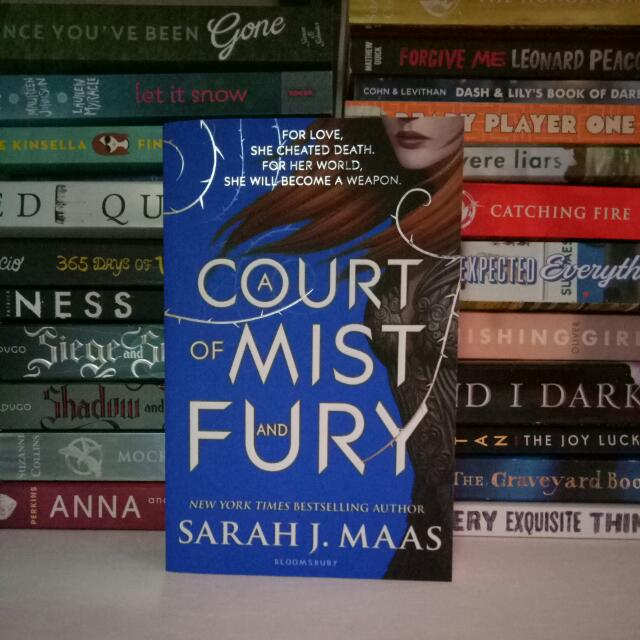 RESERVED: A Court of Mist and Fury  (ACOMAF)