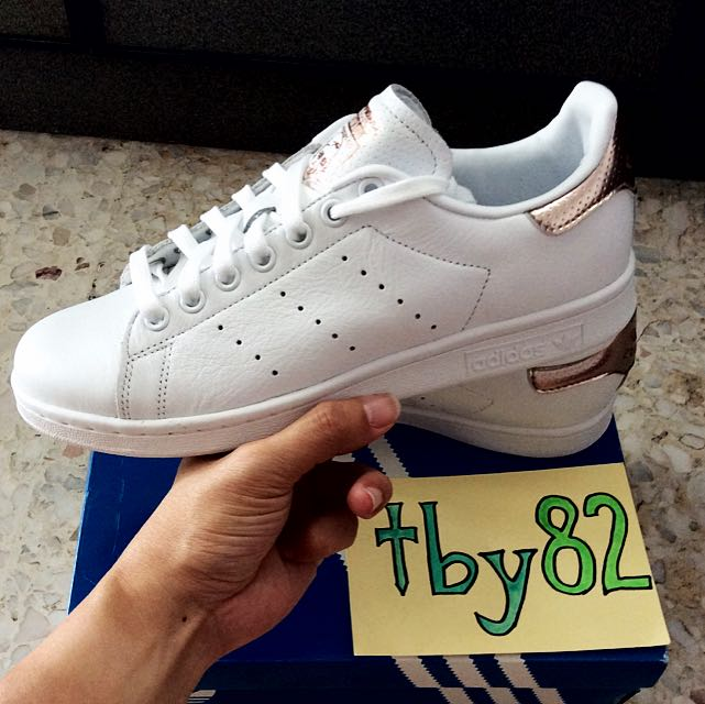 e7020dc68ba1 Sold Out!!) Adidas Womens Stan Smith Rose Gold