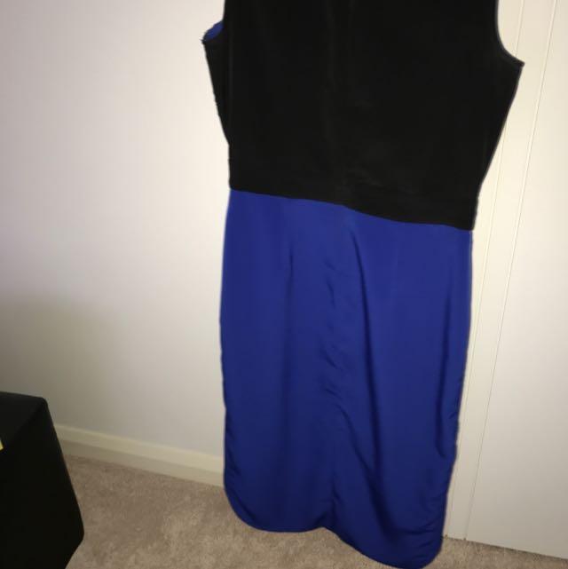 ASOS petite Hi-low Dress Size 10