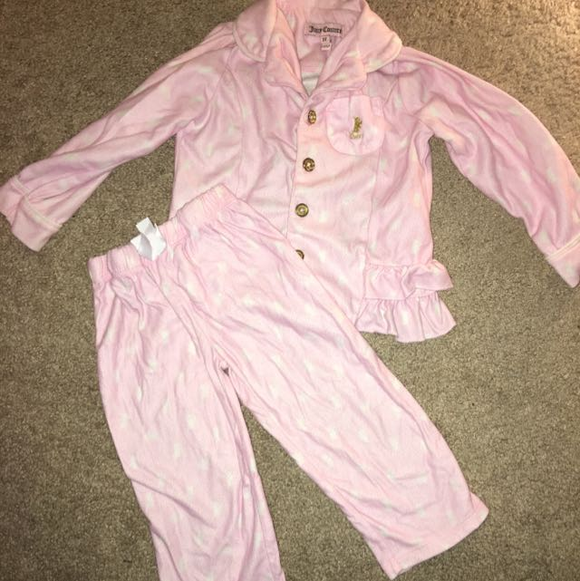 Authentic Juicy Couture 2 Pcs Pyjama
