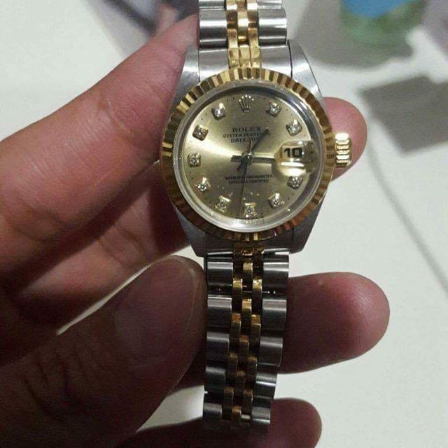 Authentic Women's Two Toned Rolex