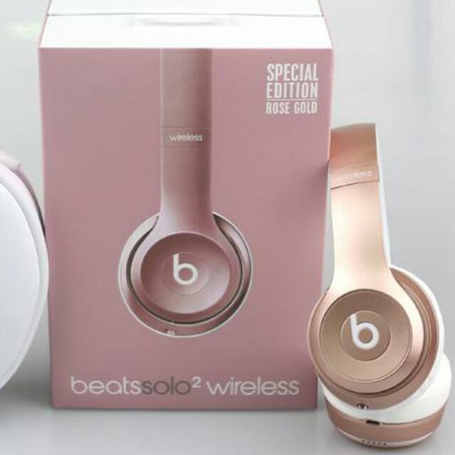 df8b8e30b20 Beats Solo 2 Wireless Headphones, Electronics, Audio on Carousell