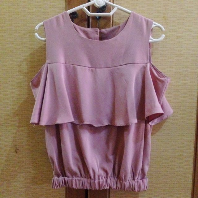 Bernadine Top In Pink