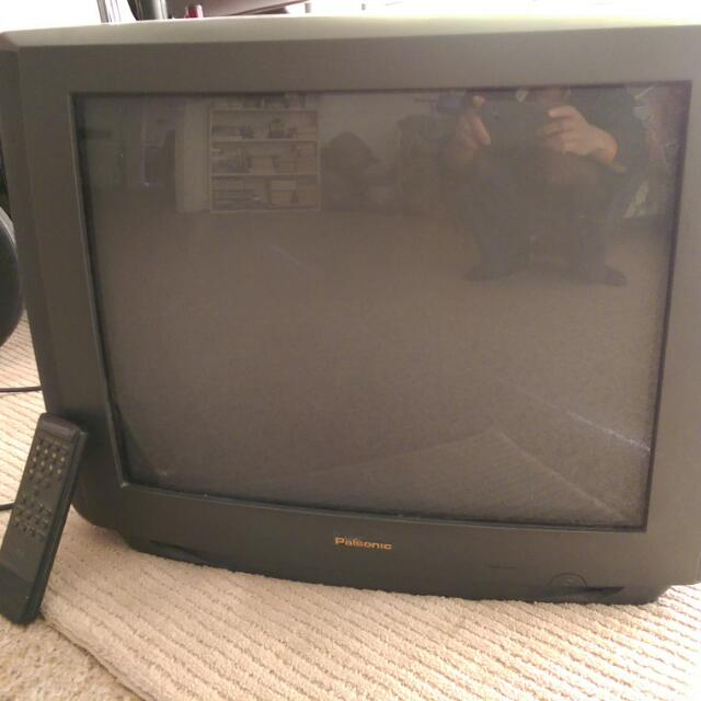 Black And White CRT TV 21 Inch With Remote Free