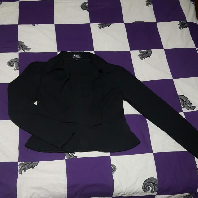 Black Blazer XL