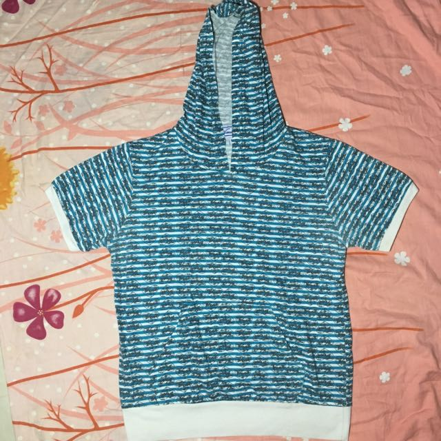 Blue Green Hoodie Shirt