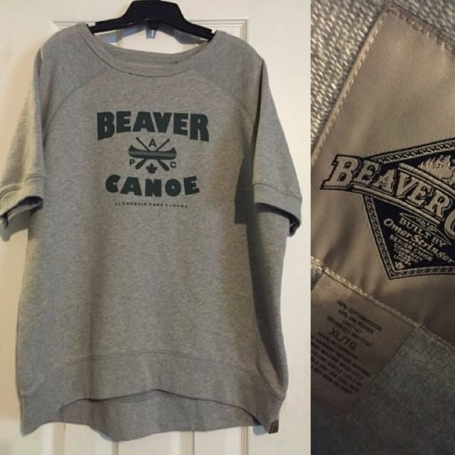 ***PRICE DROP*** Beaver Canoe Crew Neck Short Sleeve - XL (Women's)