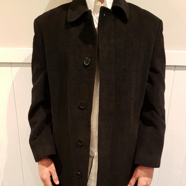Boston Trench Coat Made From Angora Wool