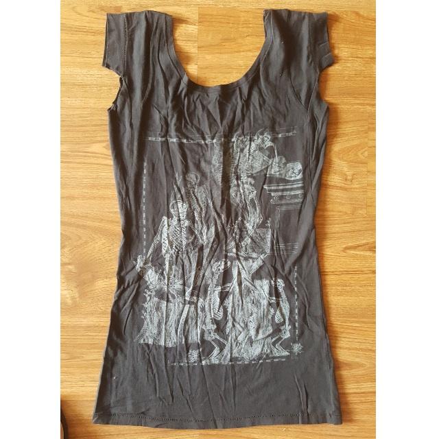 BRAND NEW AllSaints UK Skeleton Dress