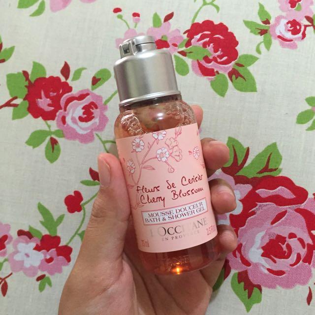 Cherry Blossom Shower Gel - L'Occitane