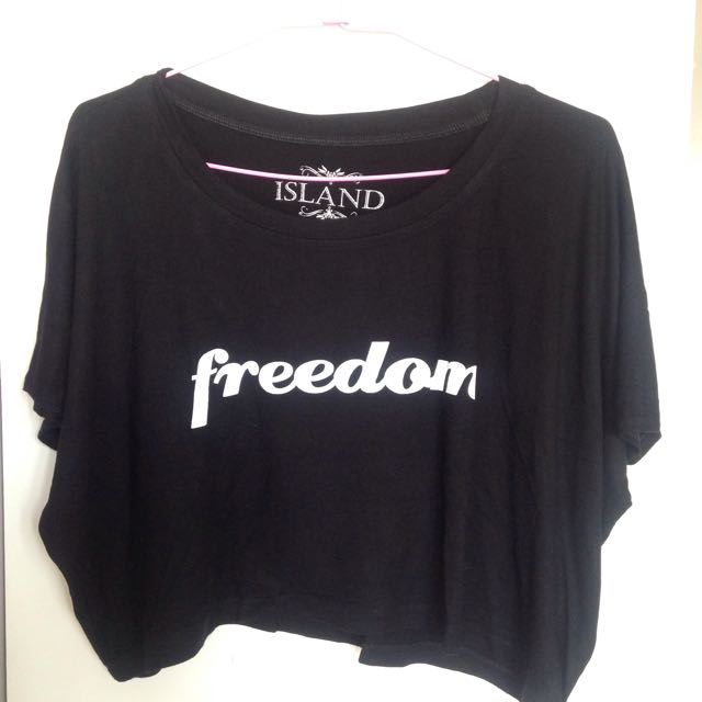 "Crop Top ""Freedom"""