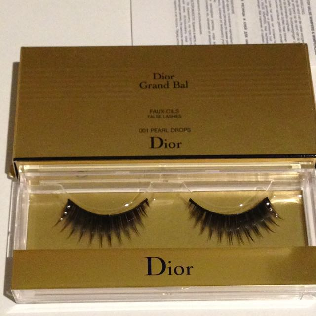 Dior Grand Bal Lashes #001 Pearl Drops