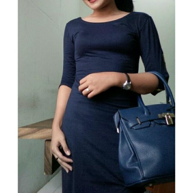Dress Bodycon navy