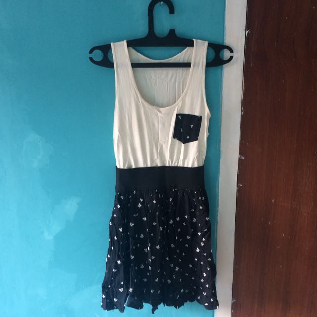 Dress Butterfly Printed