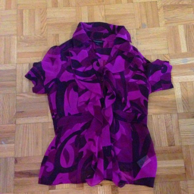Express Purple xs blouse