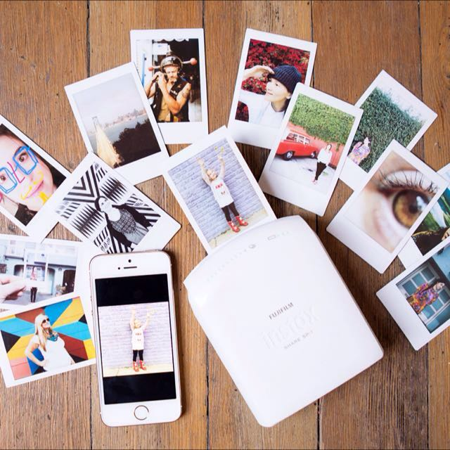 fujifilm instax polaroid printing service, pography on carousell